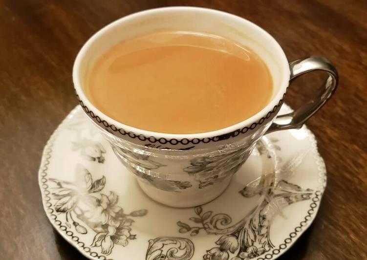Recipe: Perfect Ginger Milk Tea