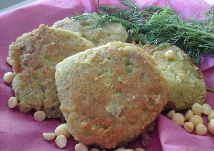 Revidokeftedes (Chickpea Burgers)
