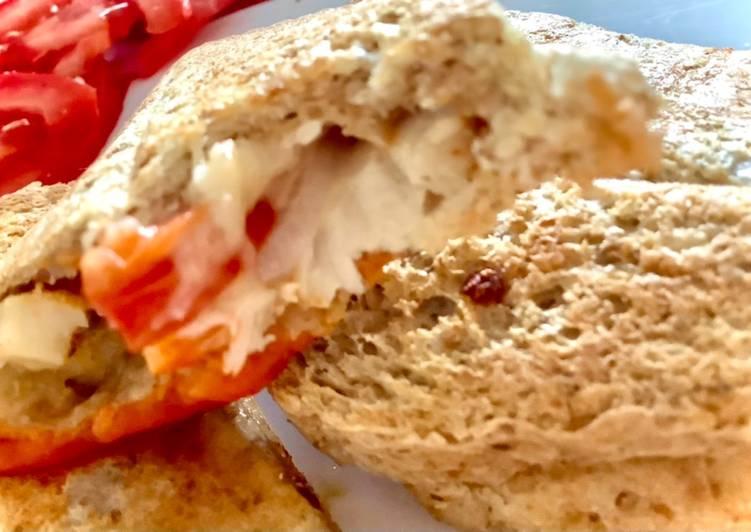 Tost z pieczonym kurczakiem główne zdjęcie przepisu