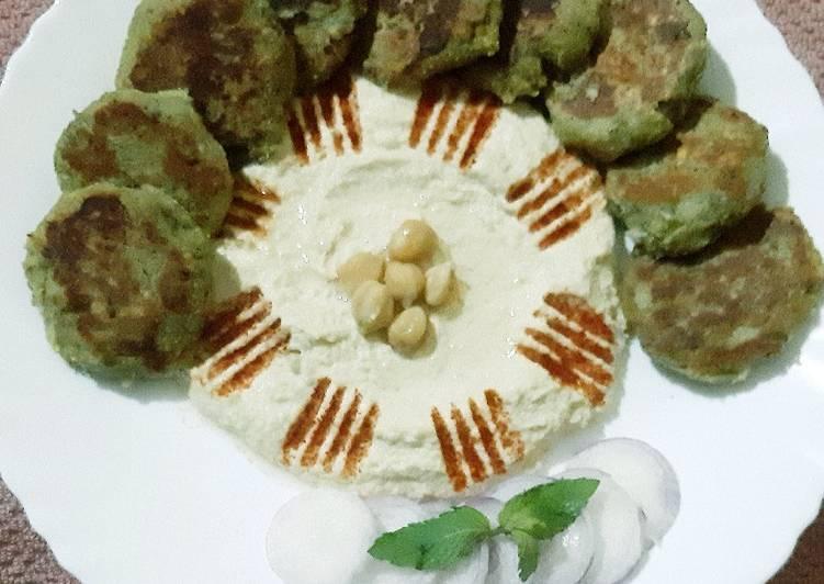 Recipe of Quick Falafel with hummus