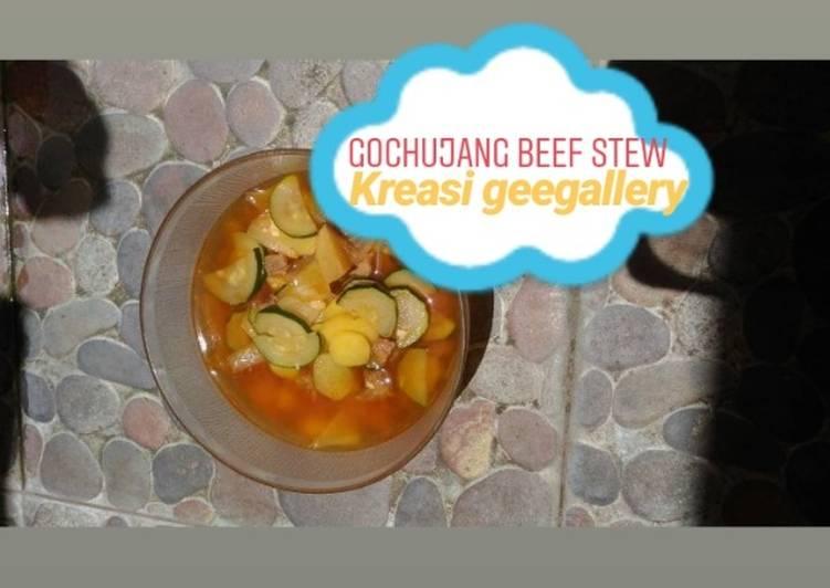Gochujang Beef Stew