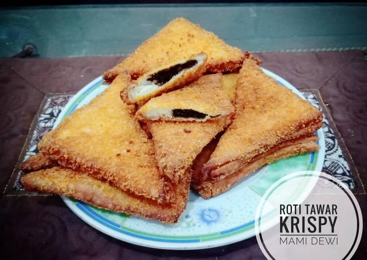 Resep Roti Tawar Krispy Paling Joss