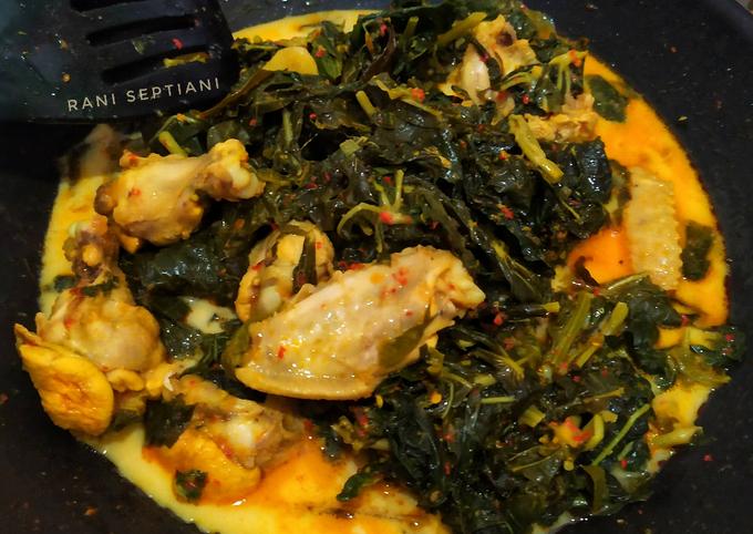 Gulai Daun Singkong + Ayam