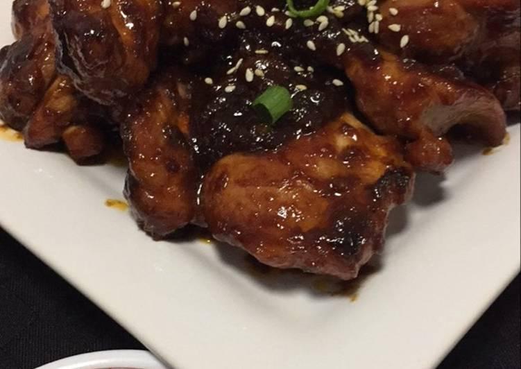 Recipe: Yummy Honey Hoisin Sriracha Chicken