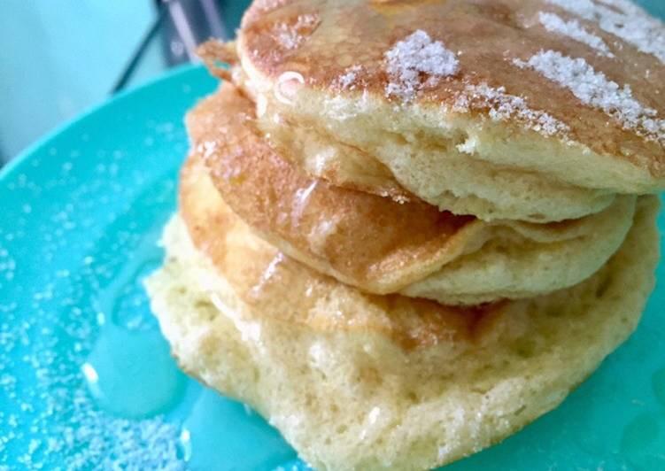 Fluffy Pancake With Madu Putih Sumbawa / Cemilan / Takjil