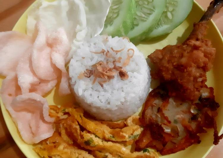 Resep Nasi Uduk Rice Cooker Paling Top