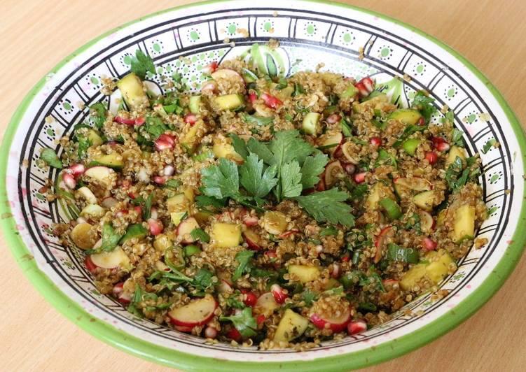 Quinoa à la grenade