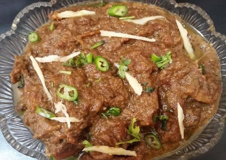 Simple Way to Prepare Speedy Black pepper Beef karahi