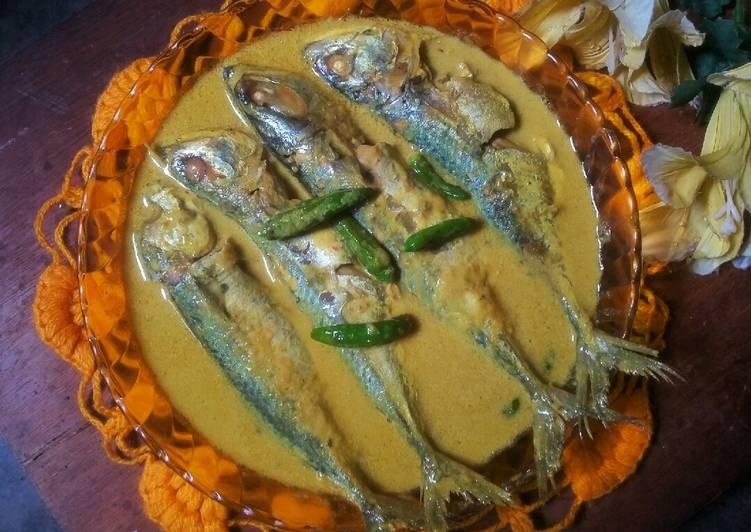 Gulai Kuning Ikan Kembung #SeninSEMANGAT