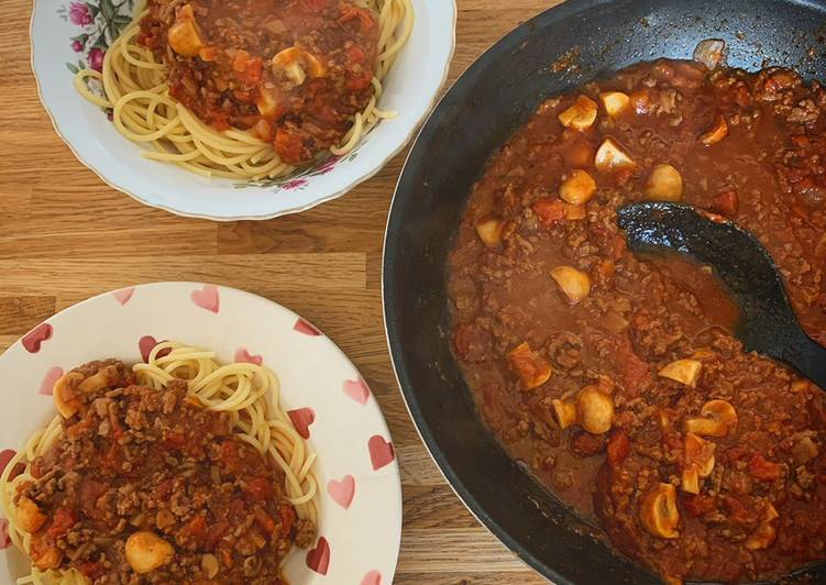 Recipe: Perfect Spaghetti Bolognase