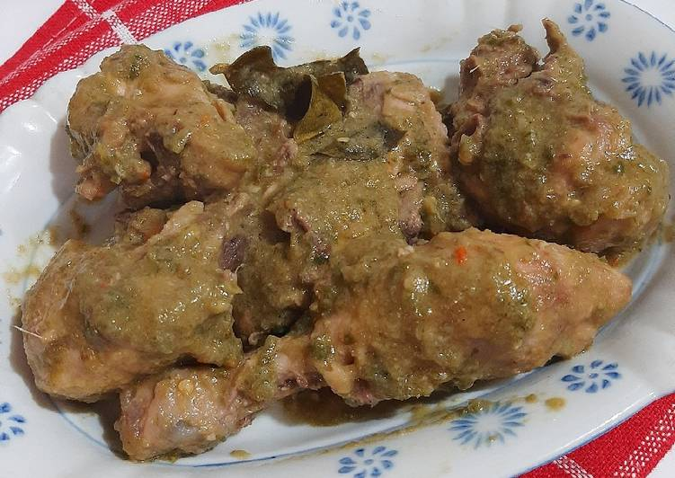 Langkah Mudah Membuat Gulai Ayam Cabai Hijau Anti Gagal