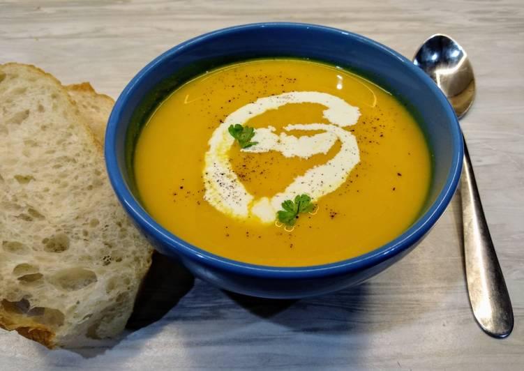 Лучик света - Крем-суп тыквенный.