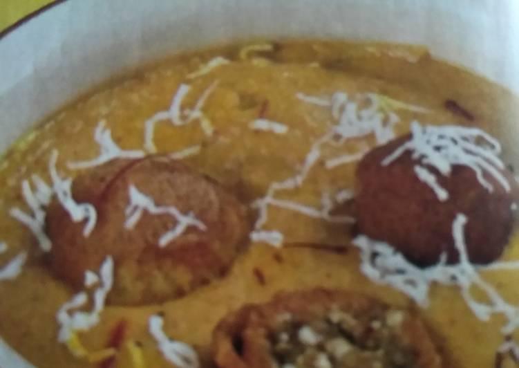 Recipe of Top-Rated Kashmiri Nargisi Kofta curry
