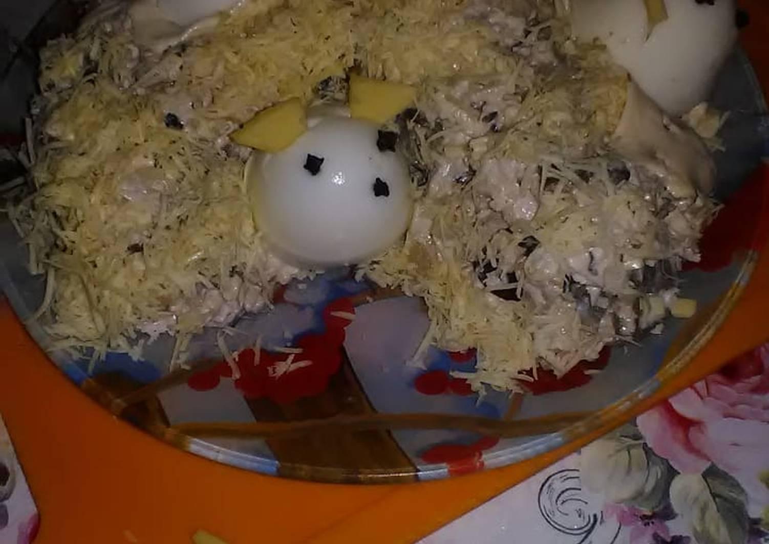визит, буду салат мышка в сыре рецепт с фото казахстане праздничным блюдом