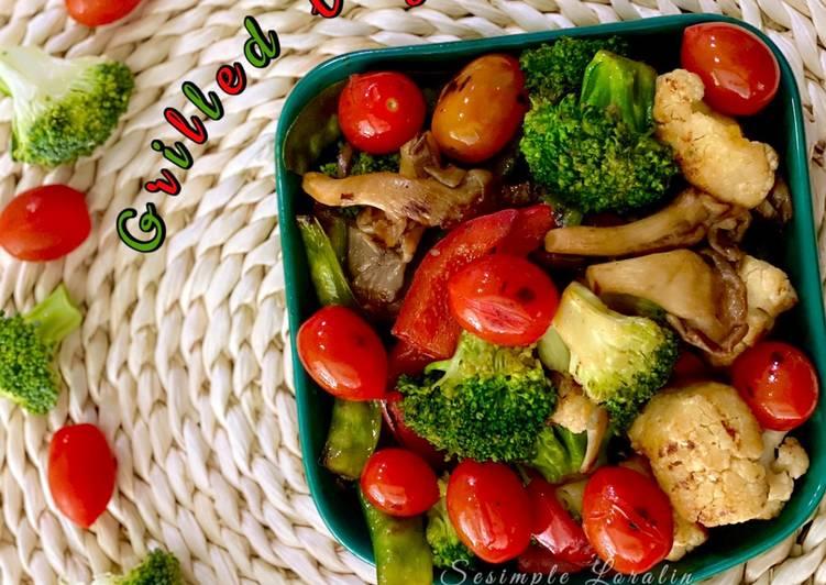 Grilled Vege (Menu Sihat)