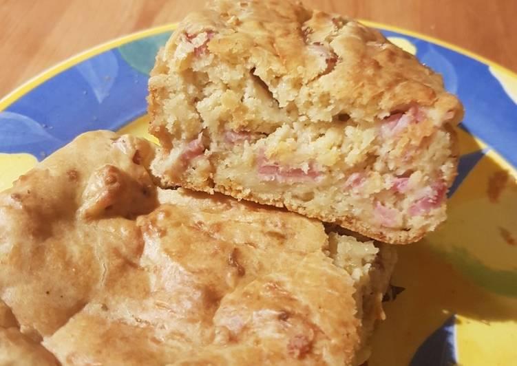 recette Cake salé sans oeufs délicieux