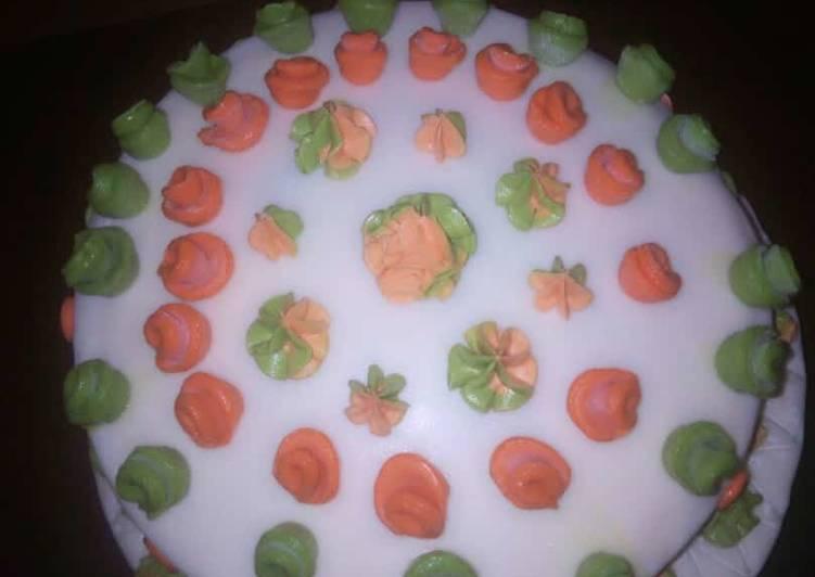 Strawberry jam cake ?
