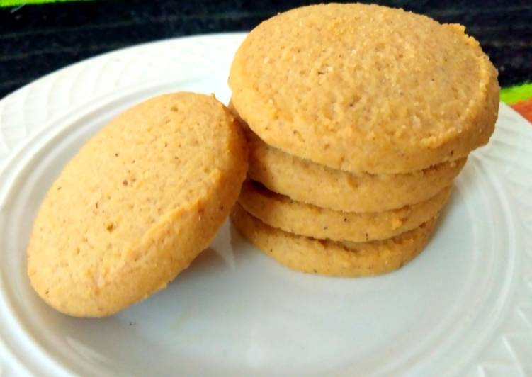 Rice, Coconut and oats cookies