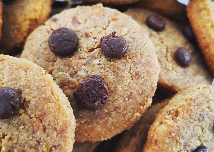Almond Cookies - ampas susu