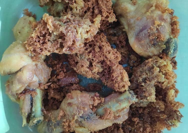 Ayam Goreng Ketumbar Bubuk Simple + Kremesan