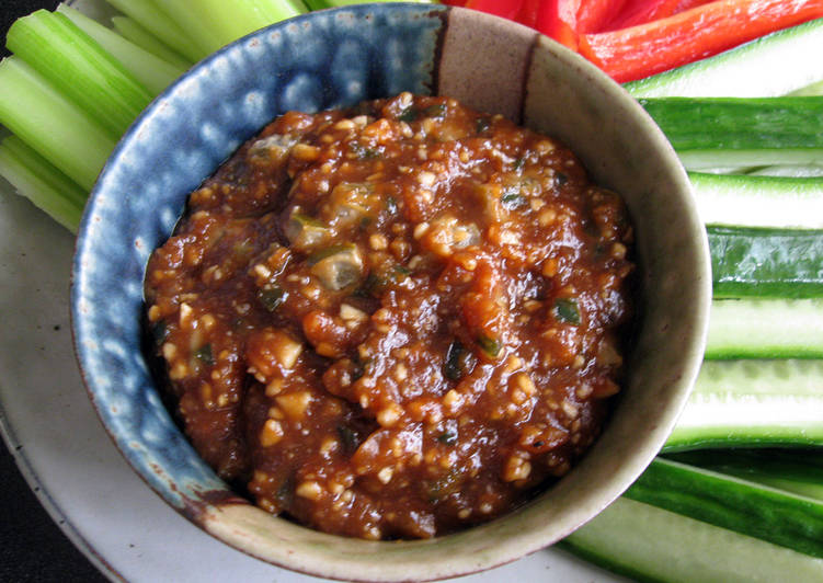 Recipe of Award-winning Jalapeño & Peanut Miso Dip