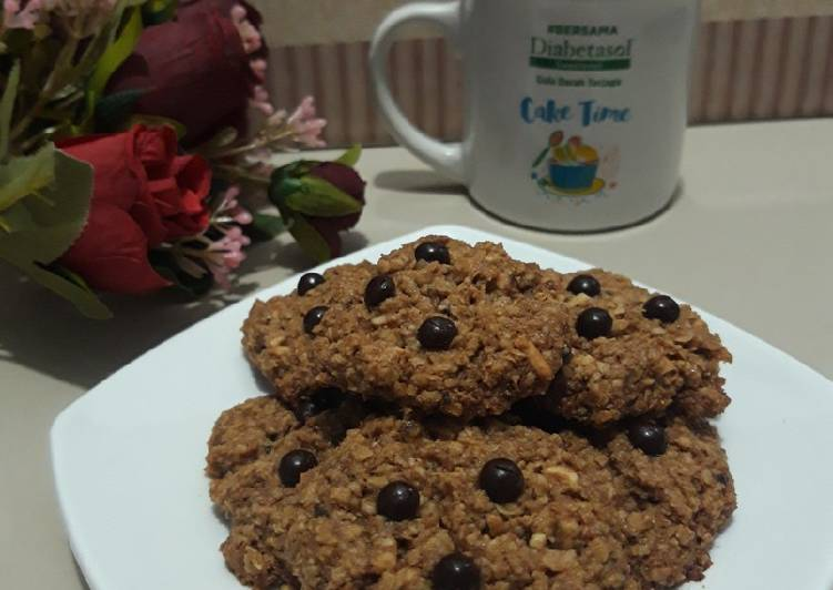 Chocolate Oatmeal chasew nut Cookies Low Sugar