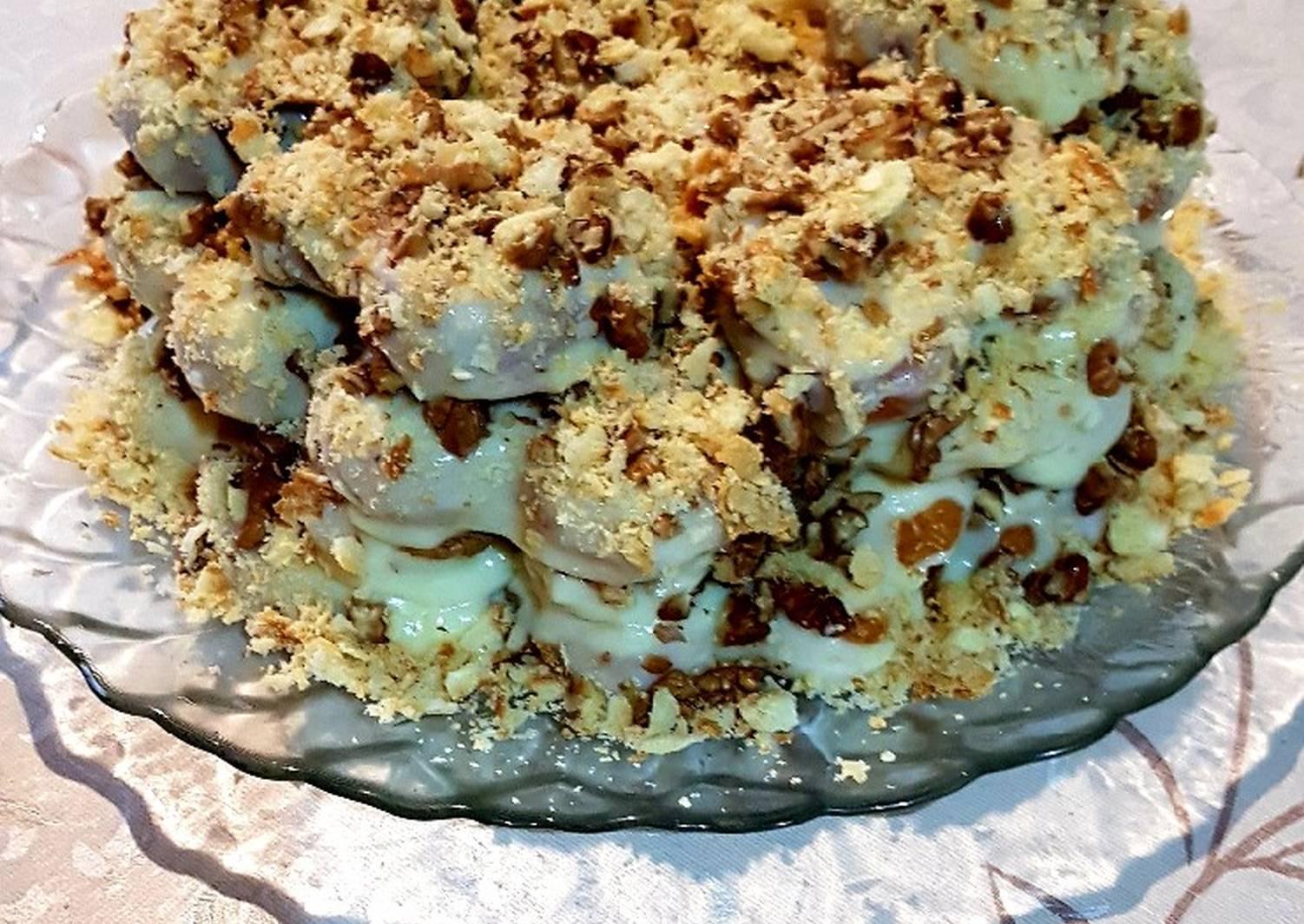 пошаговые рецепты домашних тортов без выпечки фото миссия
