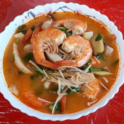 Resep Tomyam Kung Resep Asli Thailand Oleh Santi Cookpad