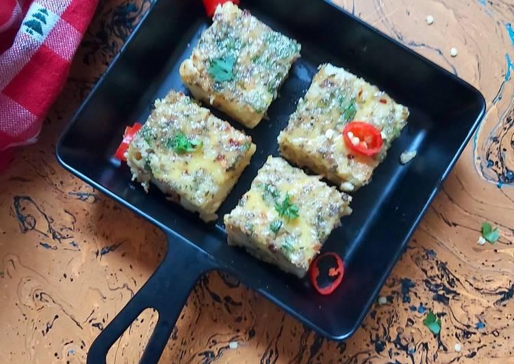 Baked Frittata Squares