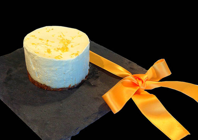 Comment Servir Cheesecake au citron sans cuisson
