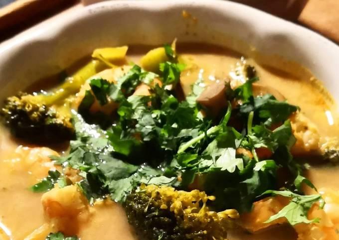 La soupe Thaï aux crevettes