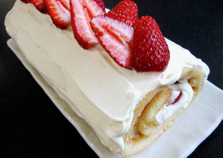 Steps to Prepare Ultimate Strawberry Roll Cake