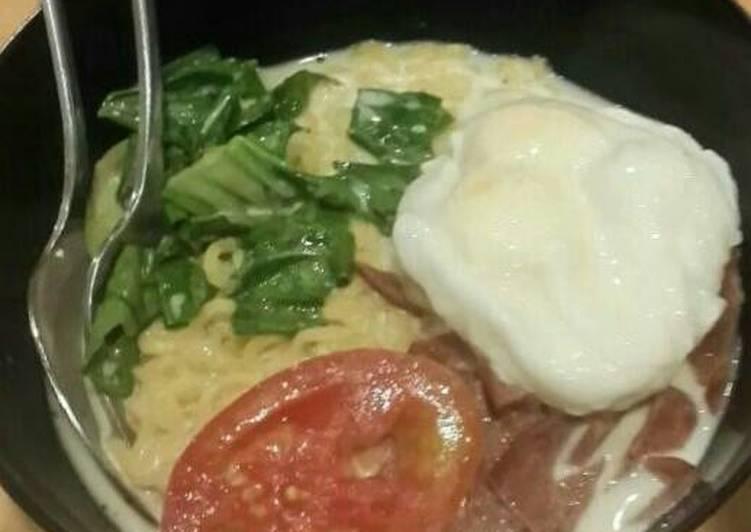 Resep Indomie Kuah Susu Keju Paling dicari