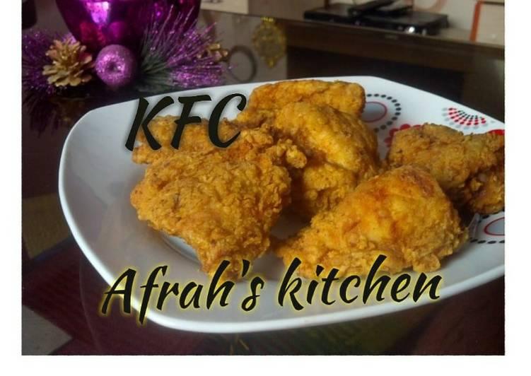 Recipe of Most Popular Kentucky fried chicken (KFC)