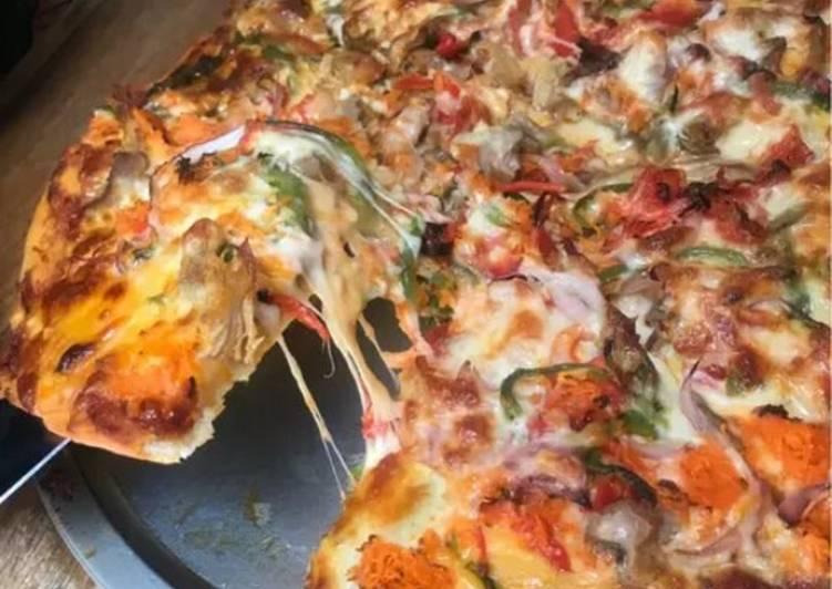 Recipe of Speedy Pizza