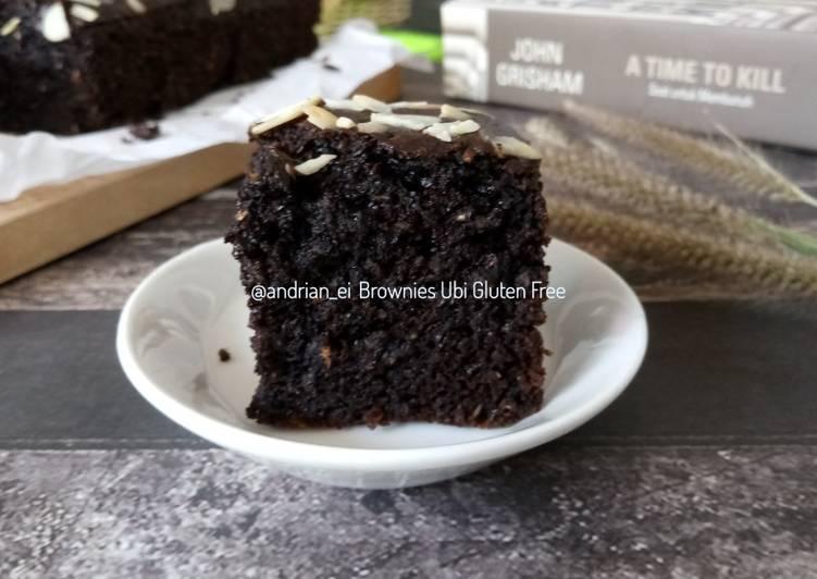 Brownies Ubi Gluten Free