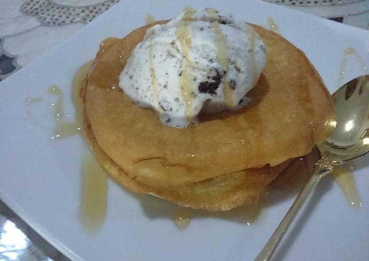 Resep Fluffy Pancake Bikin Jadi Laper