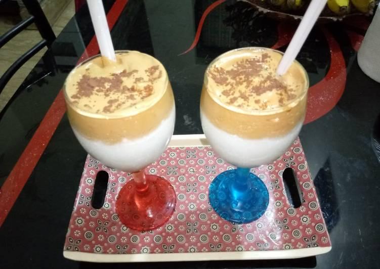 Dalgona coffee Recipe without machine by sunaira younus