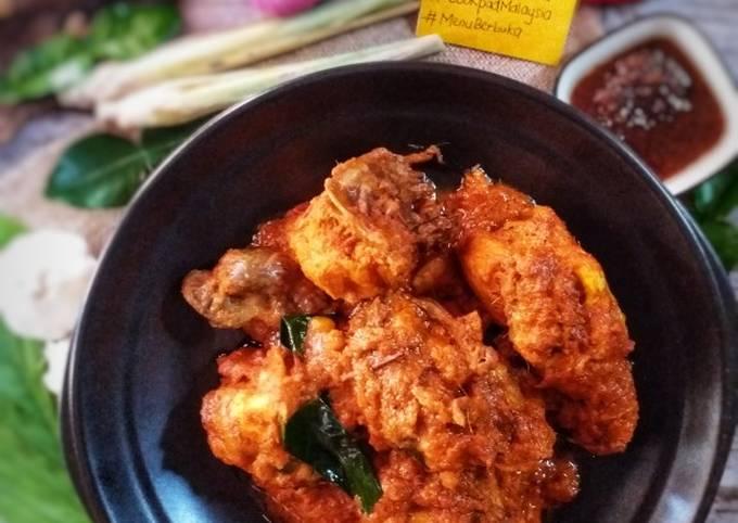 Rendang ayam simple #PhopbyLiniMohd