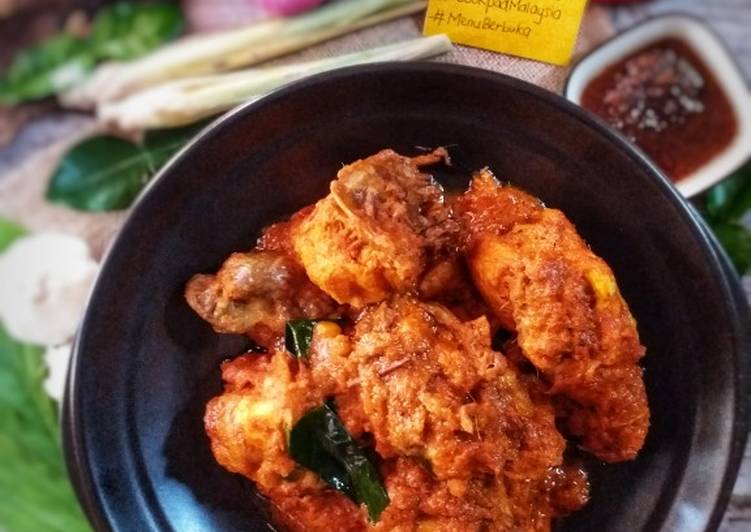 Rendang ayam simple #PhopbyLiniMohd - velavinkabakery.com