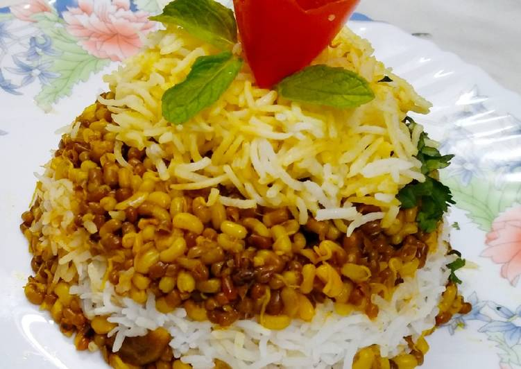 Use Food to Improve Your Mood Sprouted Moth Biryani