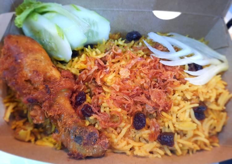Chicken briyani rice (cook with magic com)