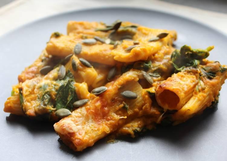 Recipe of Super Quick Homemade Creamy Pumpkin Mac & Cheese