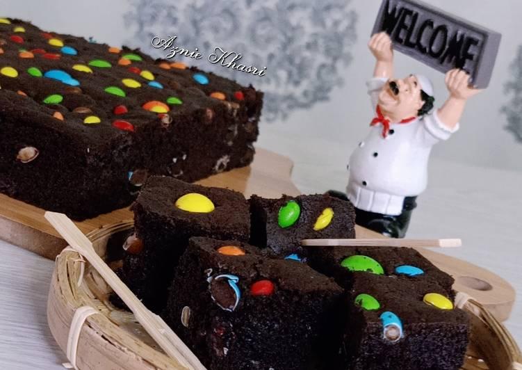 💕m&m coklat brownies #syedmunawwar💕