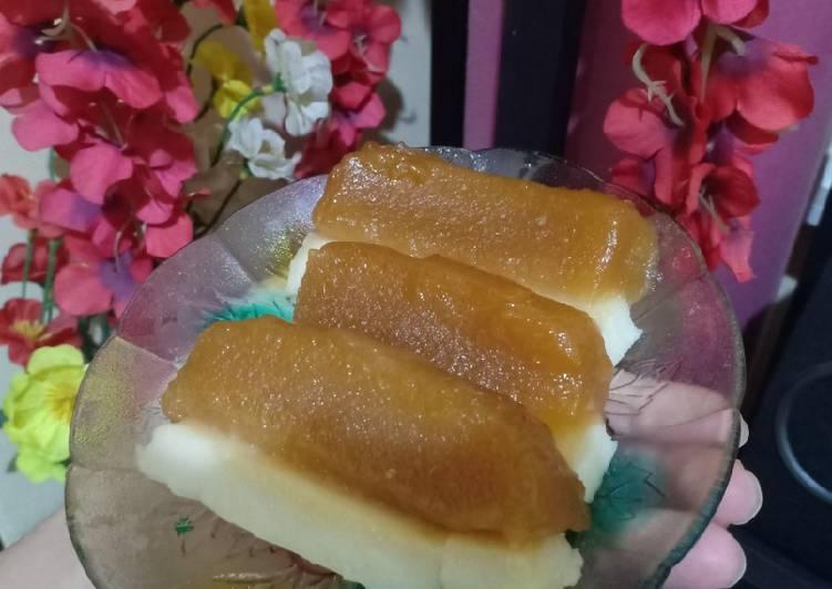Kue Talam Singkong Gula Merah
