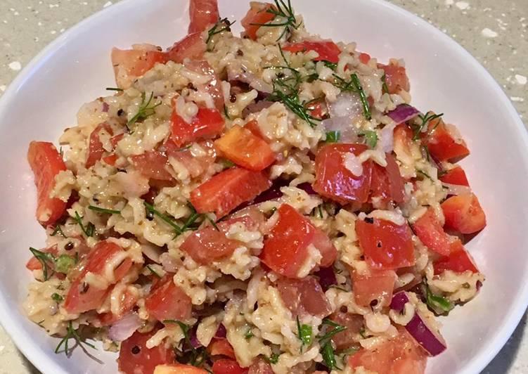 Zingy Quinoa & Rice Salad