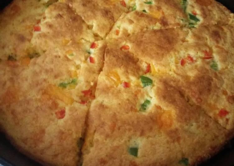 Sunshine's jalapeno sharp cheddar cheese cornbread