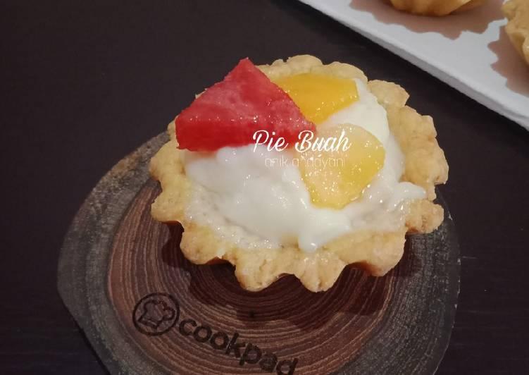 Resep Pie Buah (No Oven) Paling Enak