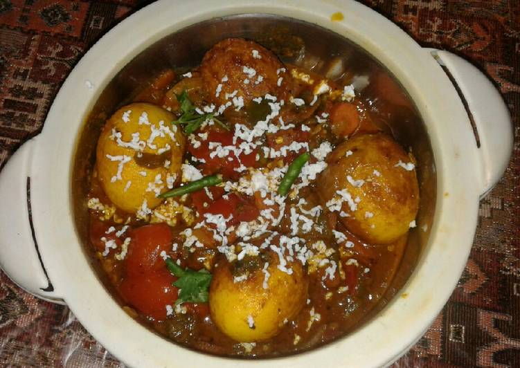 Easiest Way to Make Award-winning Egg Banzara curry