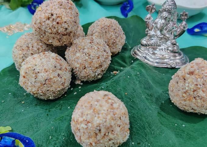 Healthy wealthy Coco dryfruit ladoo